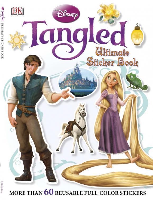 Ultimate Sticker Book: Tangled дефлекторы окон novline lexus rx300 350 400h 2003 2009 toyota harrier 2003 2009 комплект 4шт nld slrx3000332