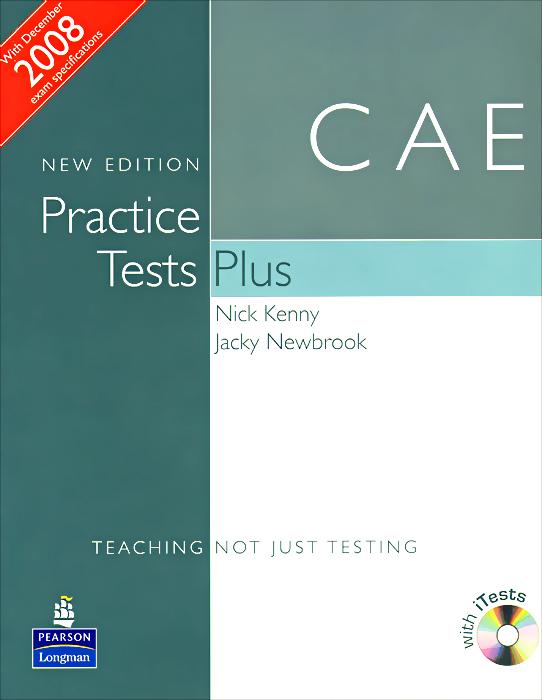 Nick Kenny, Jacky Newbrook CAE: Practice Tests Plus (+ 2 CD-ROM) jk by jacky time jk by jacky time jk001dwilz04