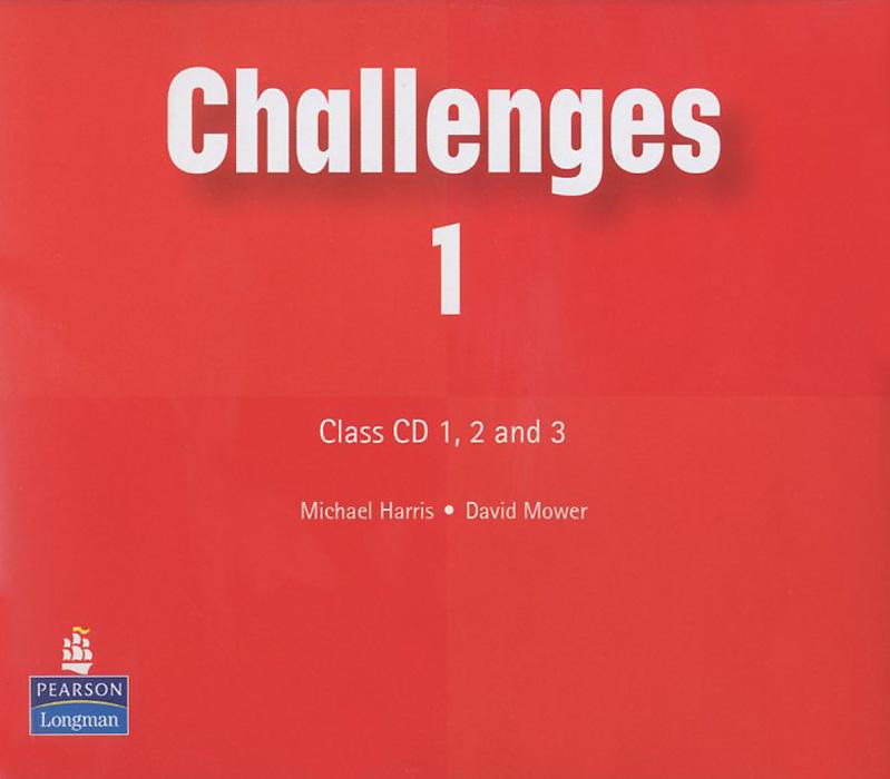 Michael Harris, David Mower Challenges 1: Class CD (аудиокурс на 3 CD) велосипед stark tanuki 14 boy 2017