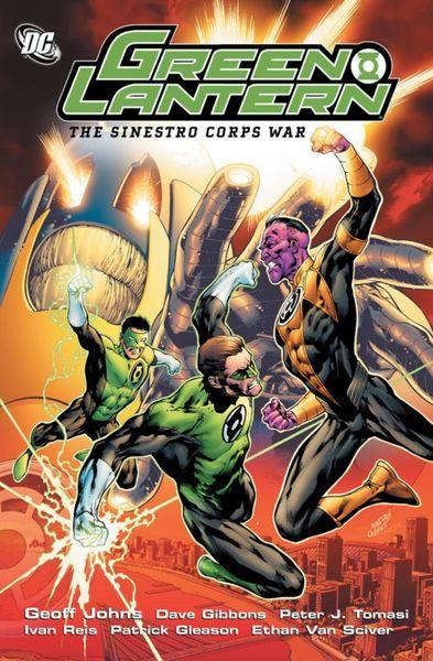 Geoff Johns Green Lantern Sinestro Corps War