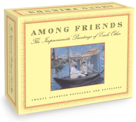 Among Friends: A Postcard Book