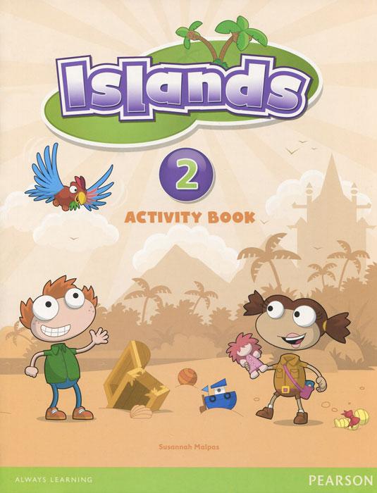 Islands: Level 2: Activity Book (+ наклейки)