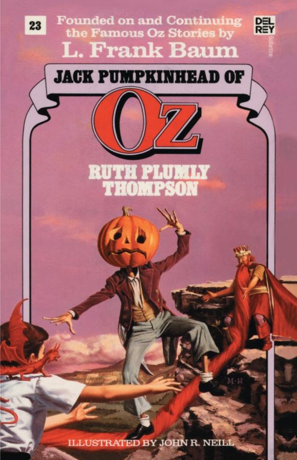 Jack Pumpkinhead of Oz (The Wonderful Oz Books, #23)
