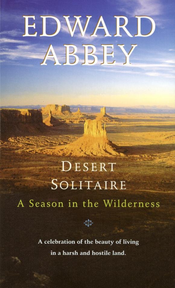 desert solitaire essays