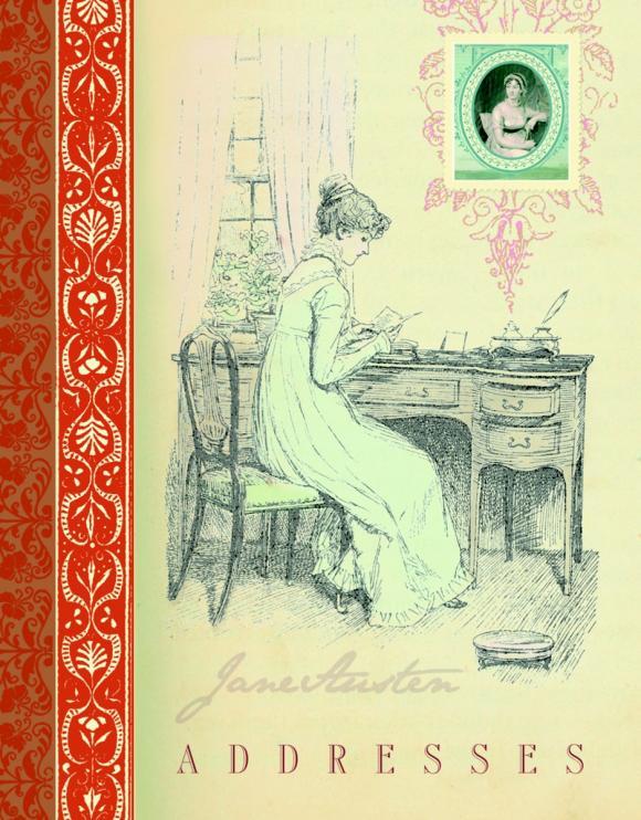 Jane Austen Address Book