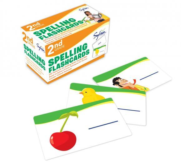 Spelling: 2nd Grade: Flashcards (набор из 240 карточек)