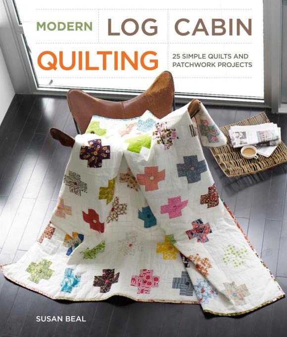 Susan Beal Modern Log Cabin Quilting