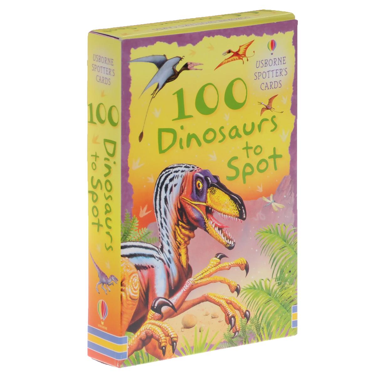 100 Dinosaurs to Spot (набор из 52 карточек)