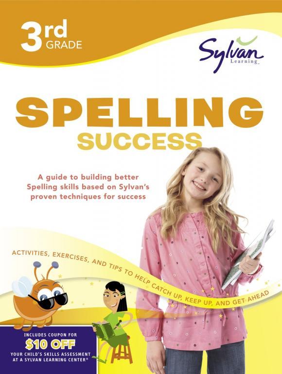 Third Grade Spelling Success (Sylvan Workbooks)