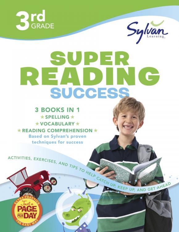 Third Grade Super Reading Success (Sylvan Super Workbooks)