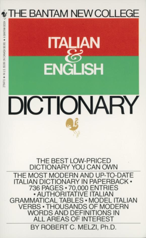 Bantam New College Italian/English Dictionary