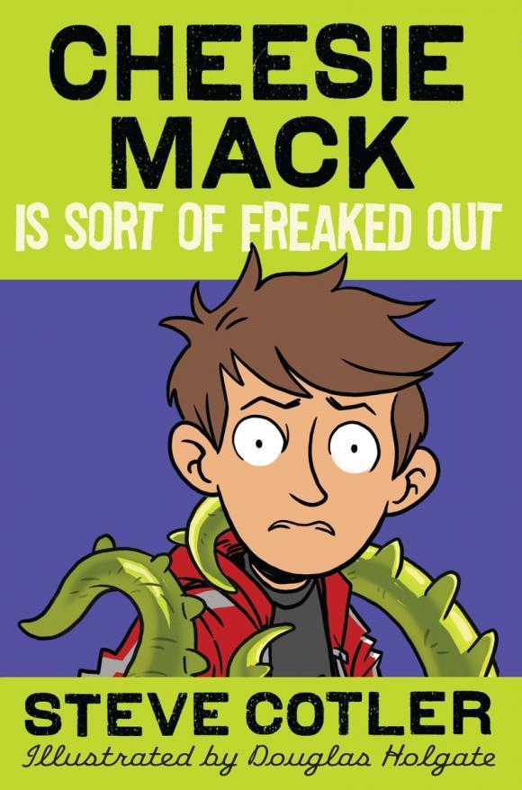 Cheesie Mack Is Sort of Freaked Out