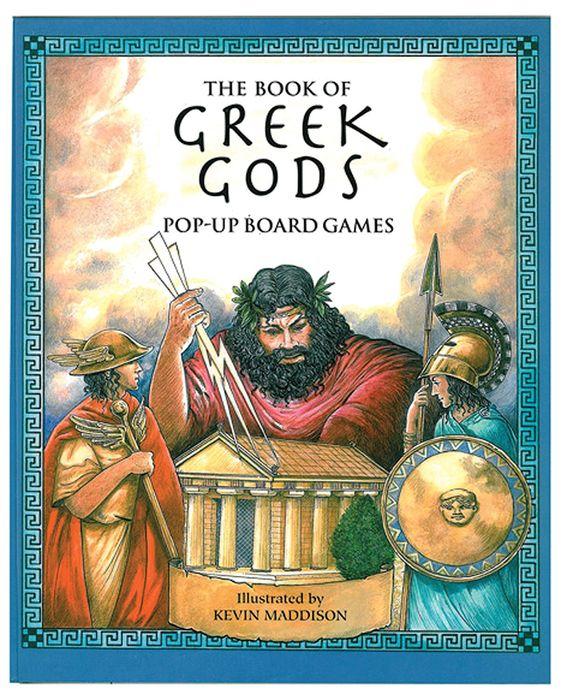 Greek Gods Pop-Up Games (4 games in book)