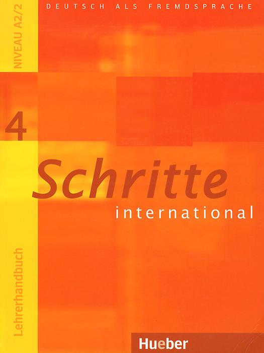 Schritte international 4: Lehrerhandbuch