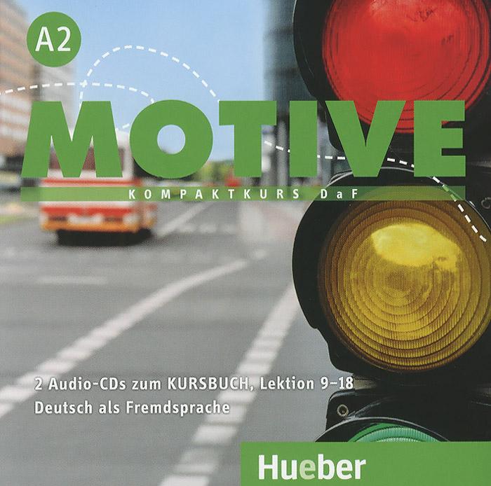Motive A2: Kursbuch: Lektion 9-18 (аудиокурс на 2 CD)