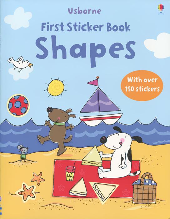 Usborne: First Sticker Book: Shapes (+ наклейки)