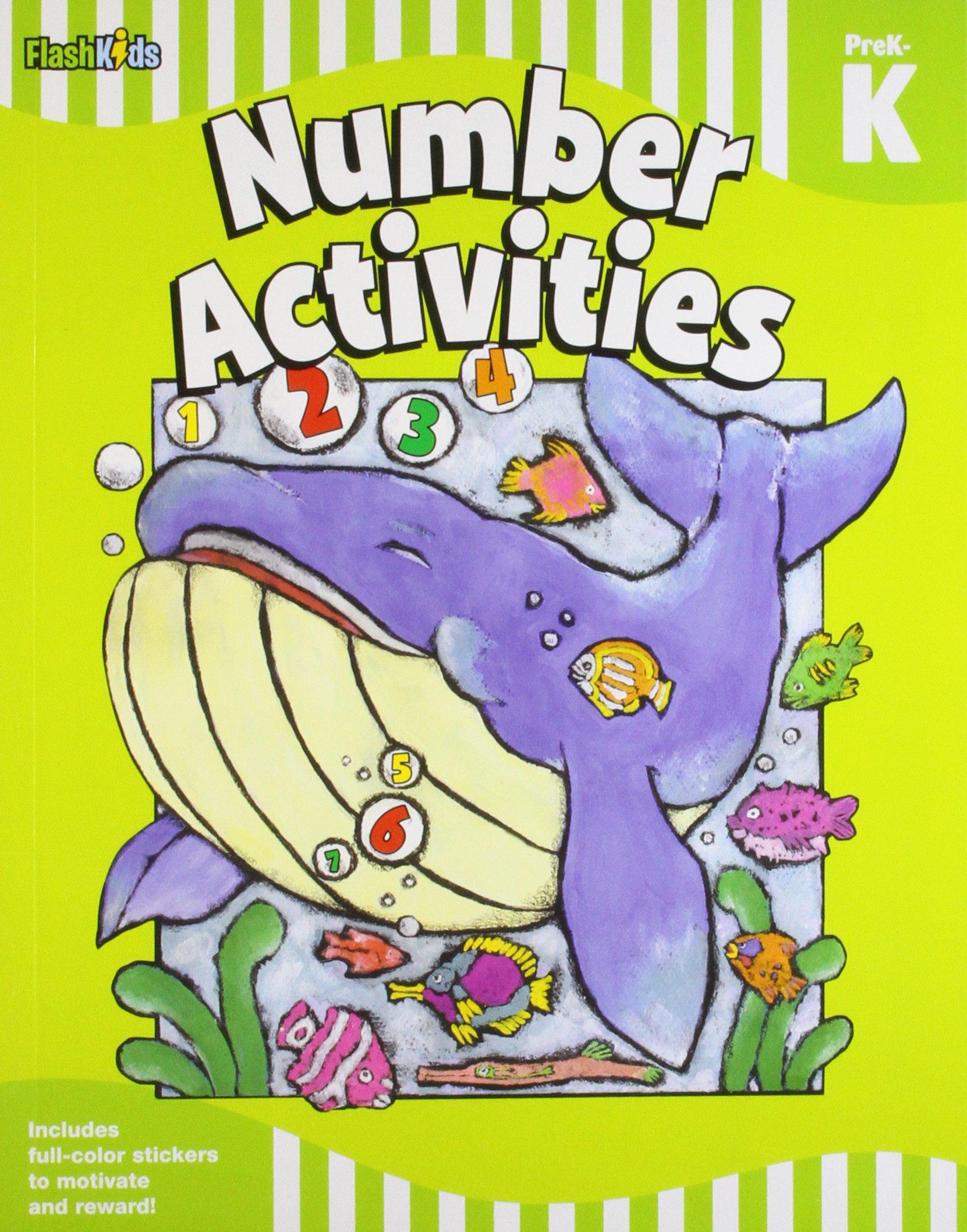 Number Activities: Grade Pre-K-K