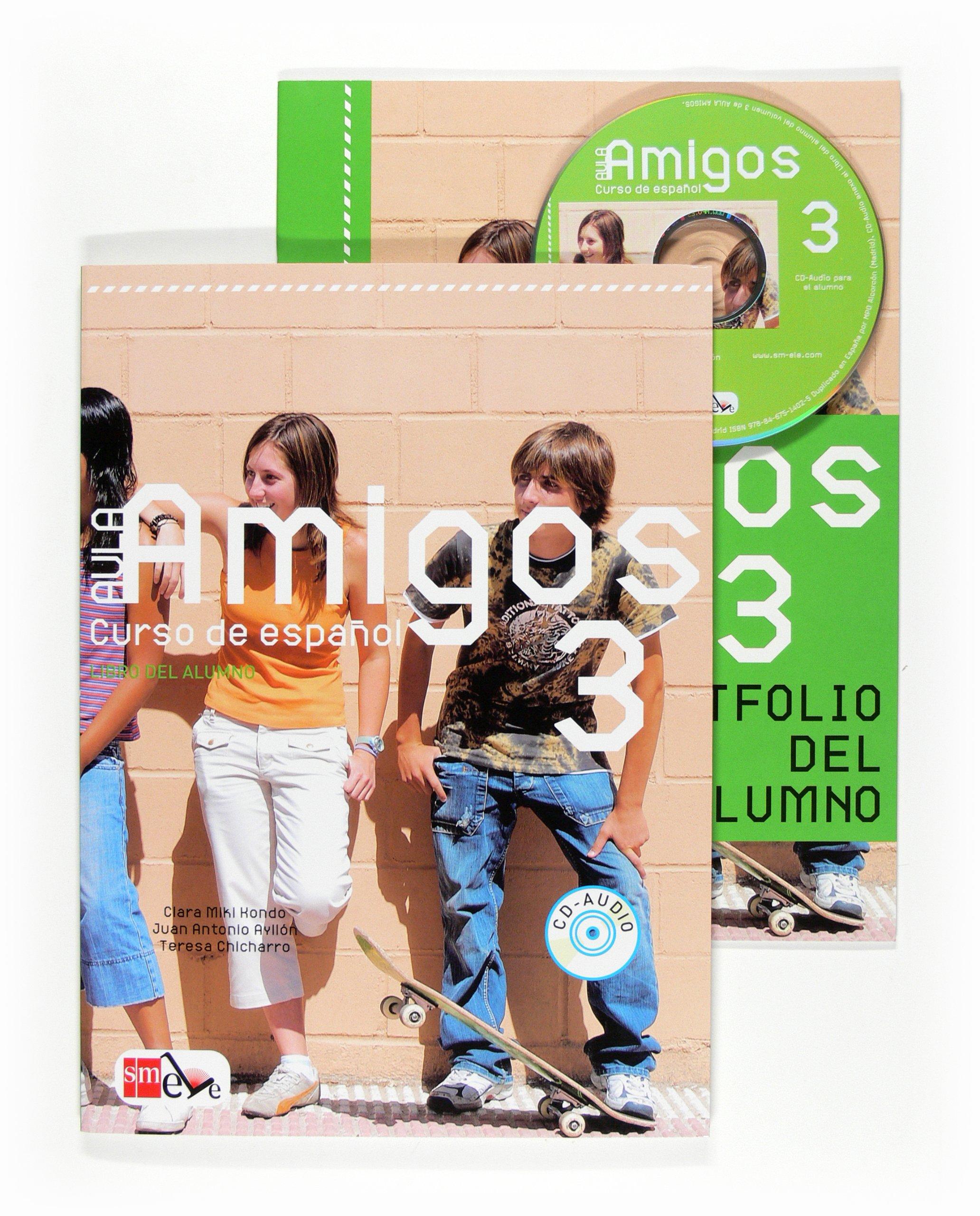 Aula Amigos Int 3 Libro Alumno + CD