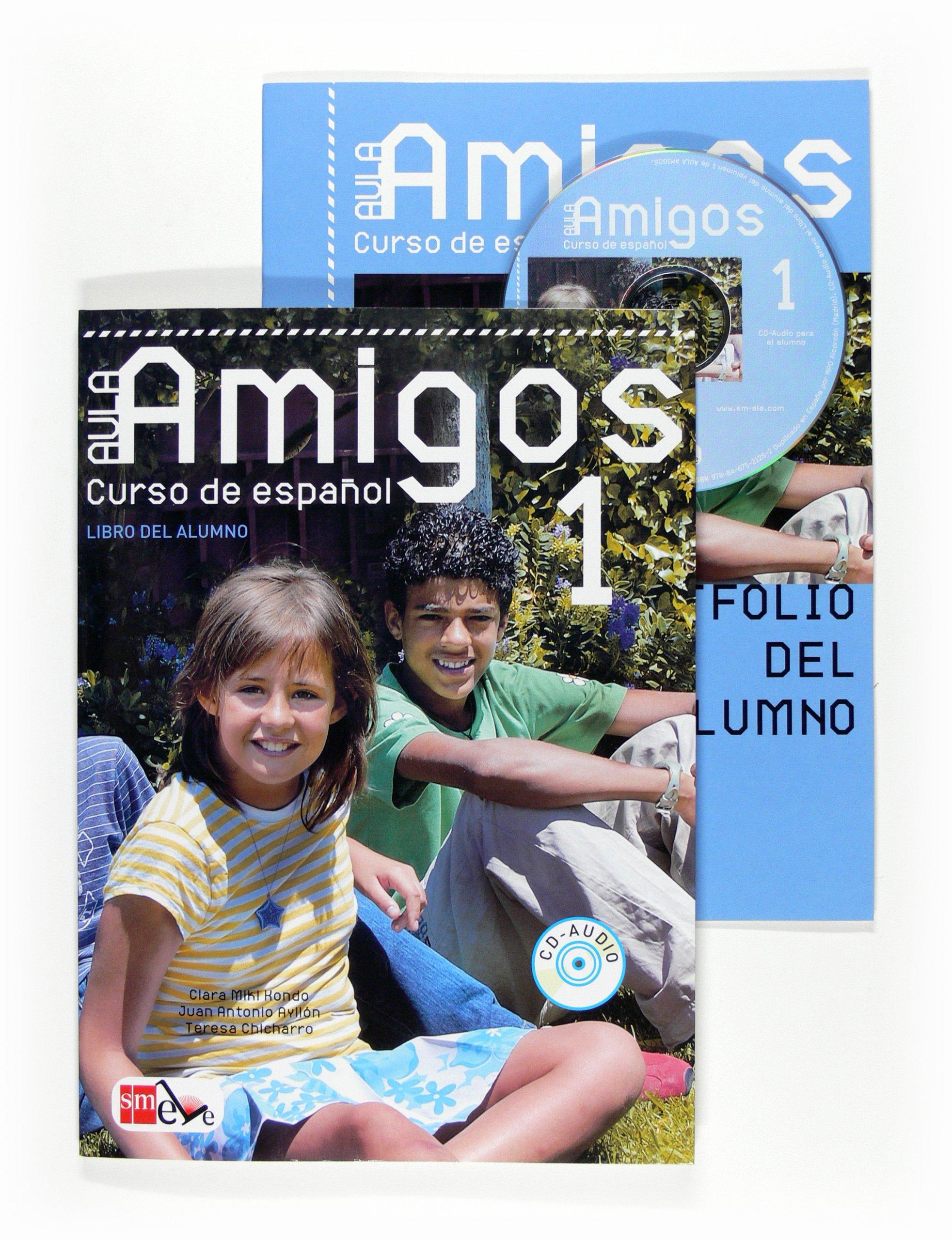 Aula Amigos Int 1 Libro Alumno + CD