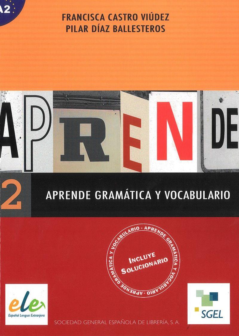Aprende gramatica y vocabulario: A2