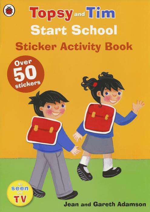 Topsy and Tim: Start School: Sticker Activity Book (+ наклейки)