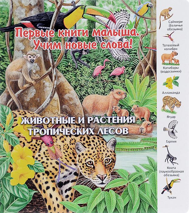 Первые книги малыша. Животные и растения тропических лесов