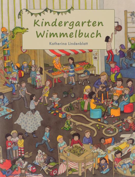 Kindergarten: Wimmelbuch12296407Im Kindergarten passieren viele aufregende Dinge! In diesem Wimmelbuch werden die Kleinsten in uber 20 fortlaufenden Geschichten in das rege Treiben des Kindergartenalltags eingefuhrt. Mit diesem Buch werden die Kinder zu Entdeckern und machen sich spielerisch mit typischen Situationen des Tagesablaufs vertraut. Vom Abschiedsritual an der Tur uber das gemeinsame Essen und Mittagsschlafen bis hin zu Sport, Spiel und Spass: Hier gibt es immer etwas Neues zu suchen und finden!