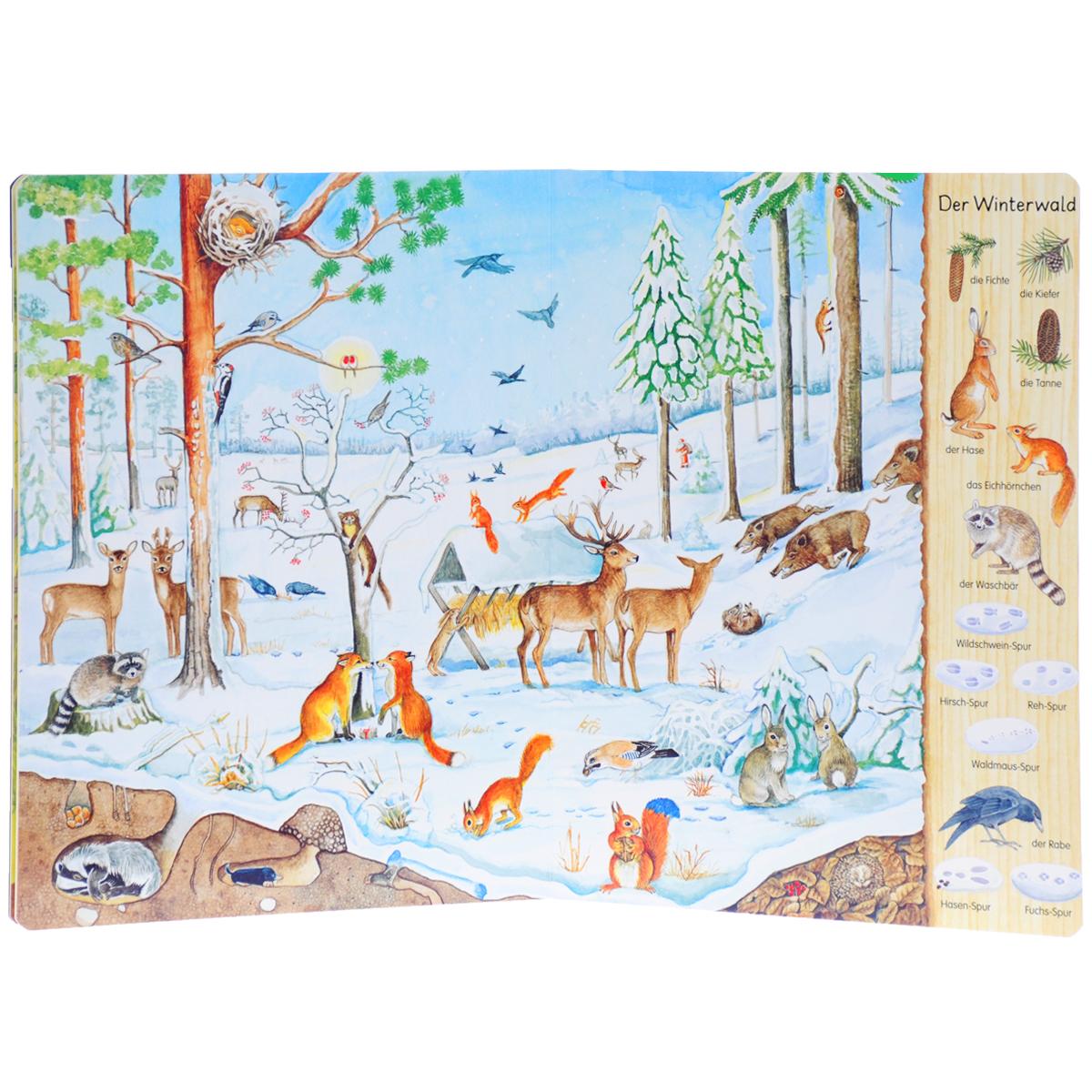 Mein erstes Wimmelbuch: Im Wald