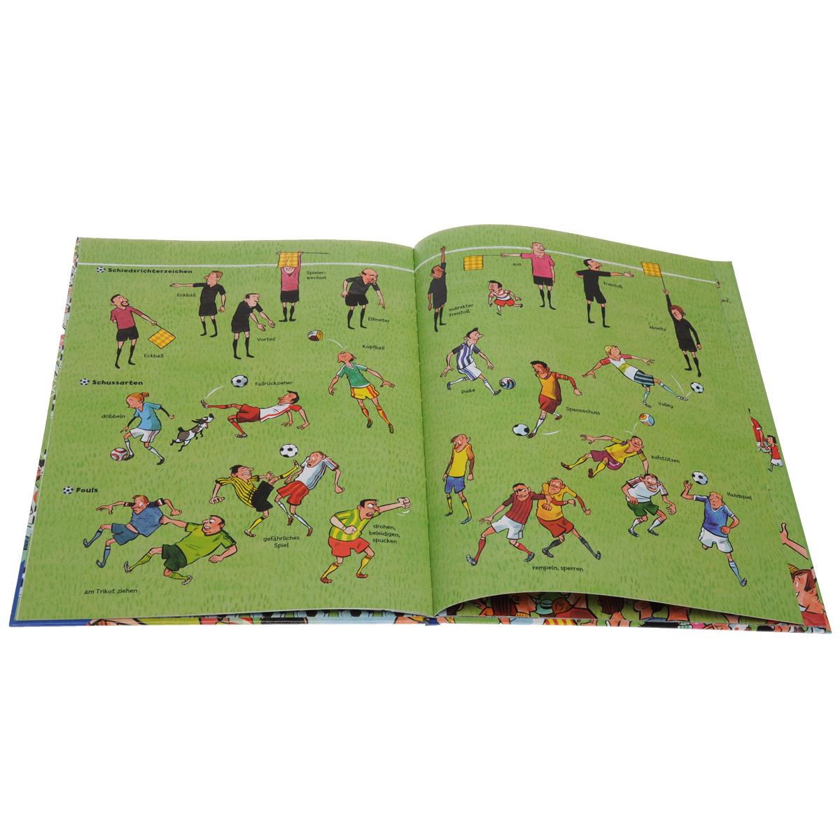 Das grosse Fussball-Wimmelbuch