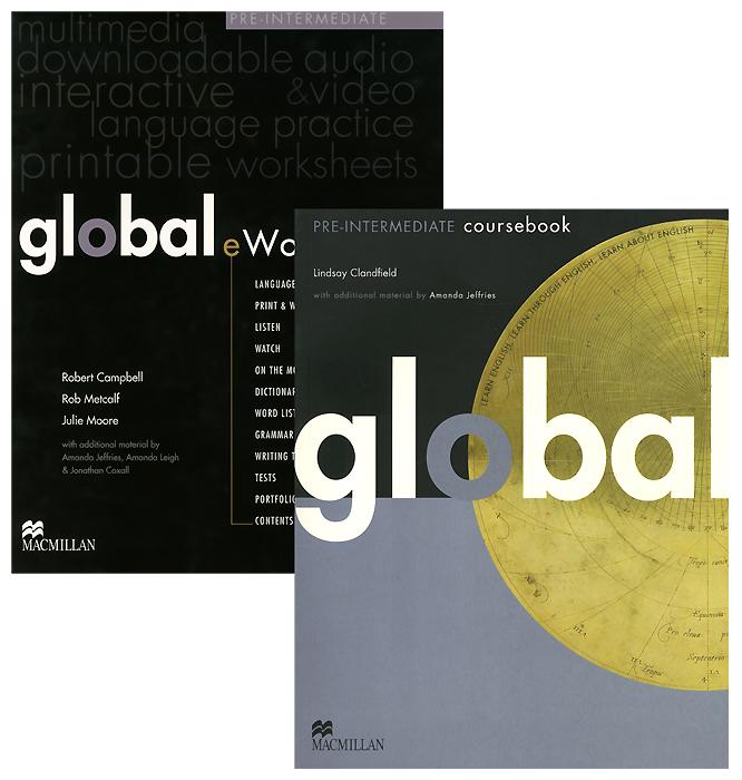 Global Pre-intermediate: Coursebook with eWorkbook (+ 3 DVD-ROM)