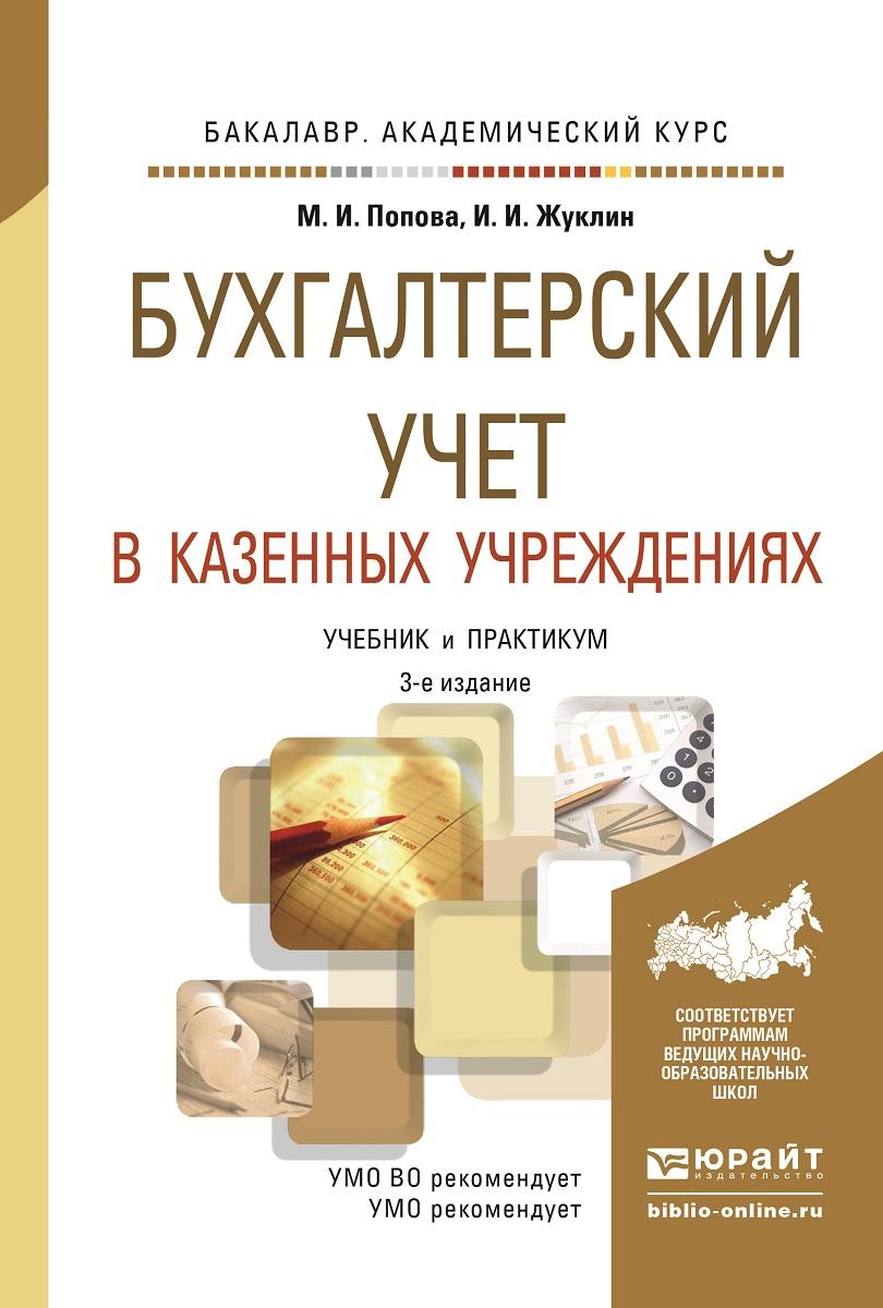 Бухгалтерский учет в казенных учреждениях. Учебник и практикум