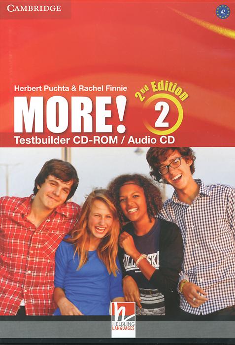 Herbert Puchta & Rachel Finnie More! Level 2: Testbuilder CD-ROM / Audio CD aladdin level 2 cd rom