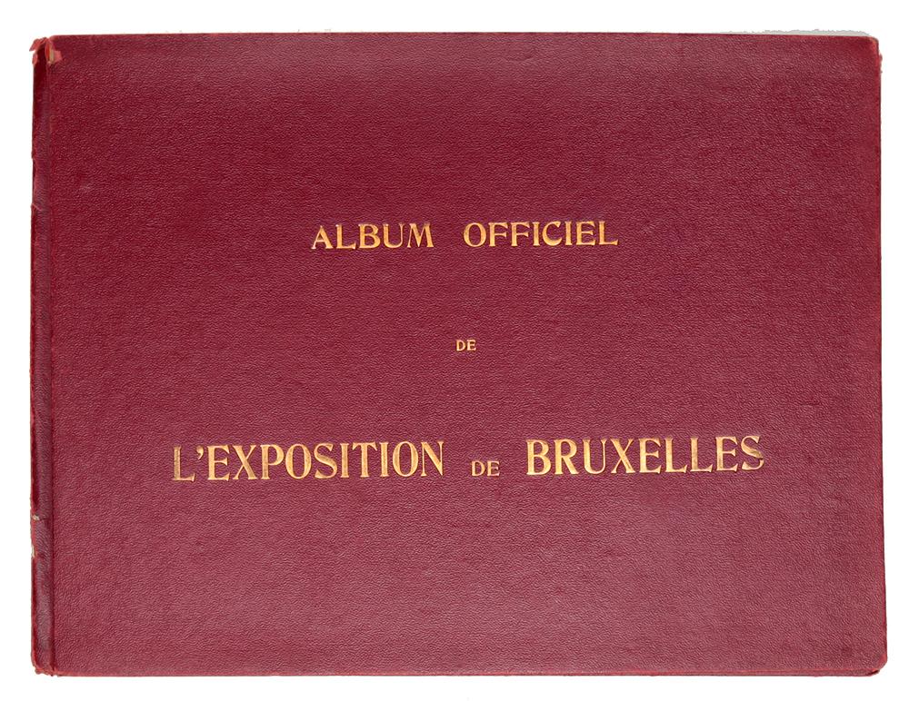 Альбом видов Выставка в Брюсселе