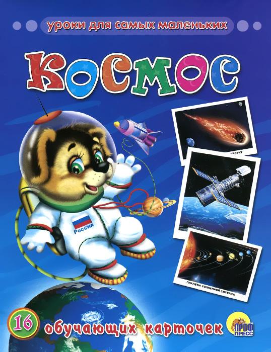 Космос (набор из 16 обучающих карточек)