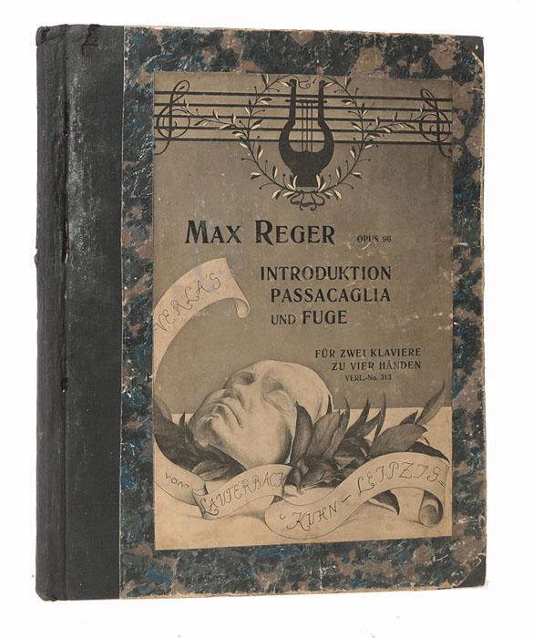 Max Reger. Introduktion Passacaglia und Fuge, Opus 96