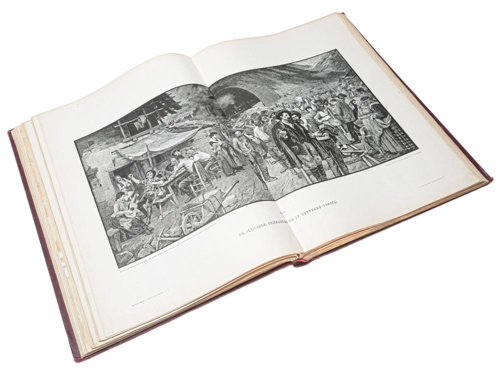 Moderne Kunst in Meister-Holzschnitten nach Gemalden beruhmter Meister der Gegenwart. II Band