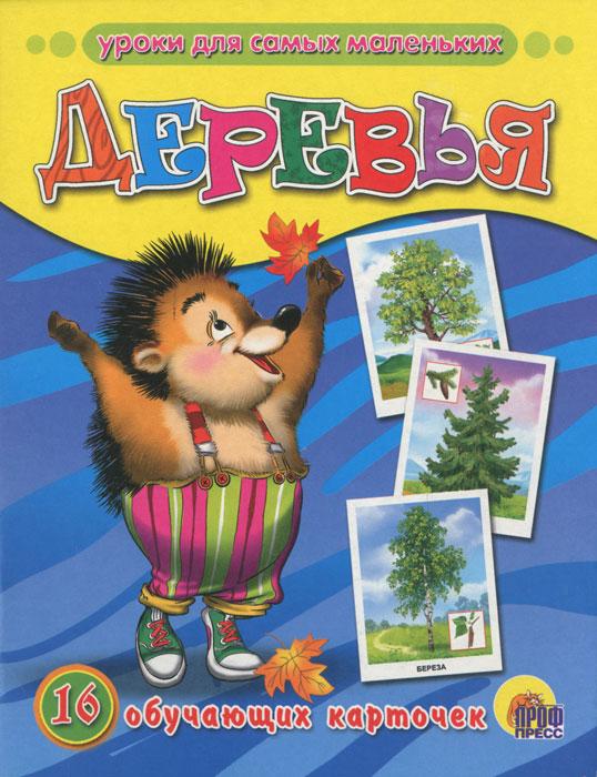 Деревья (набор из 16 обучающих карточек)