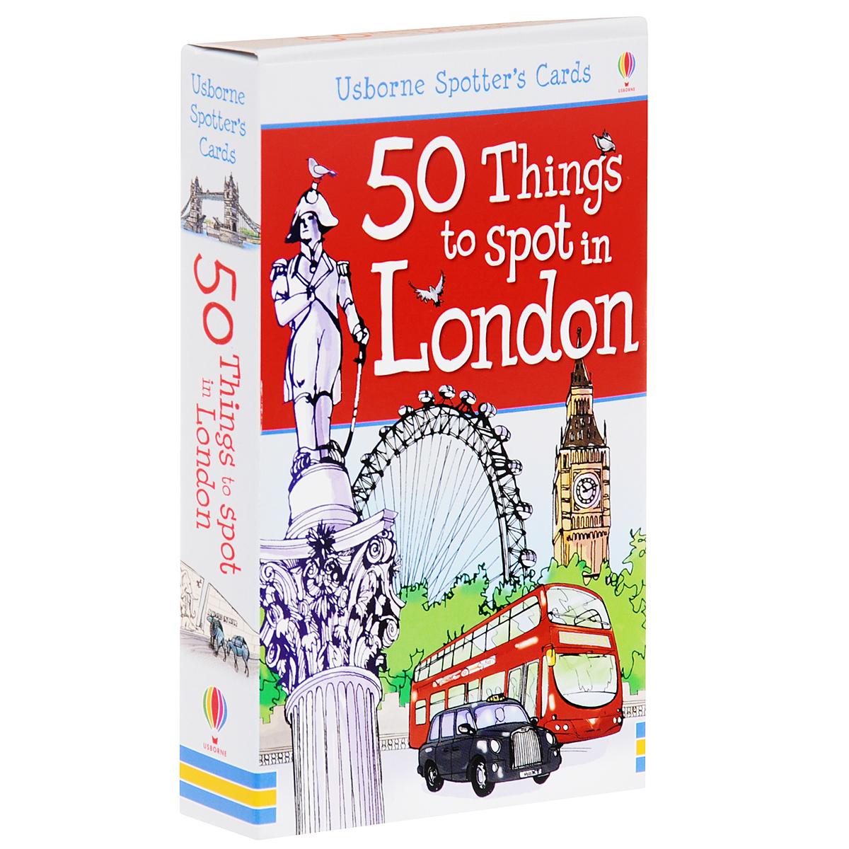 50 Things to Spot in London (набор из 52 карточек)