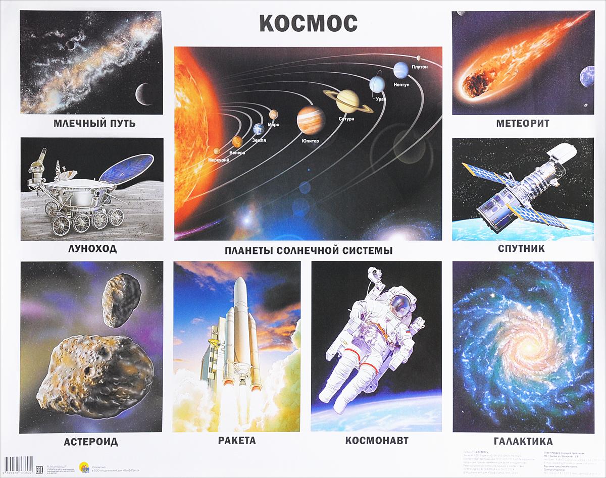 Космос. Плакат