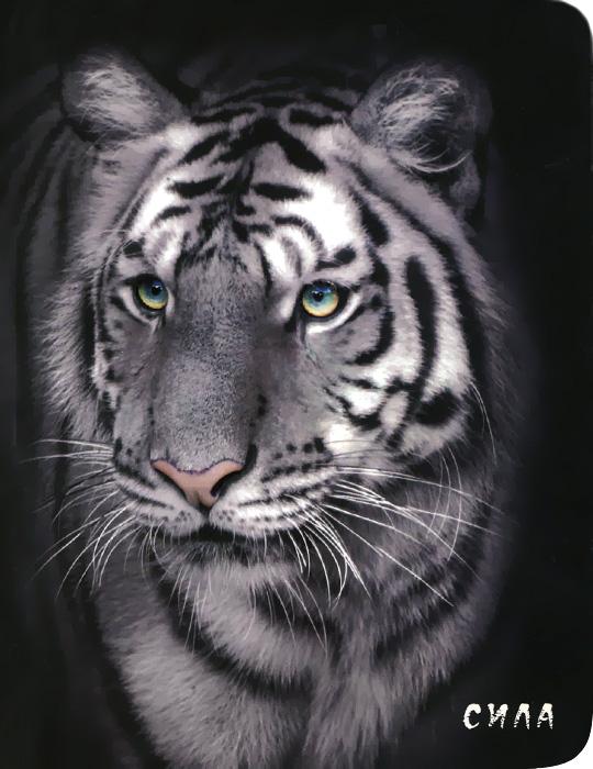 Блокнот настоящего хищника (Белый тигр)