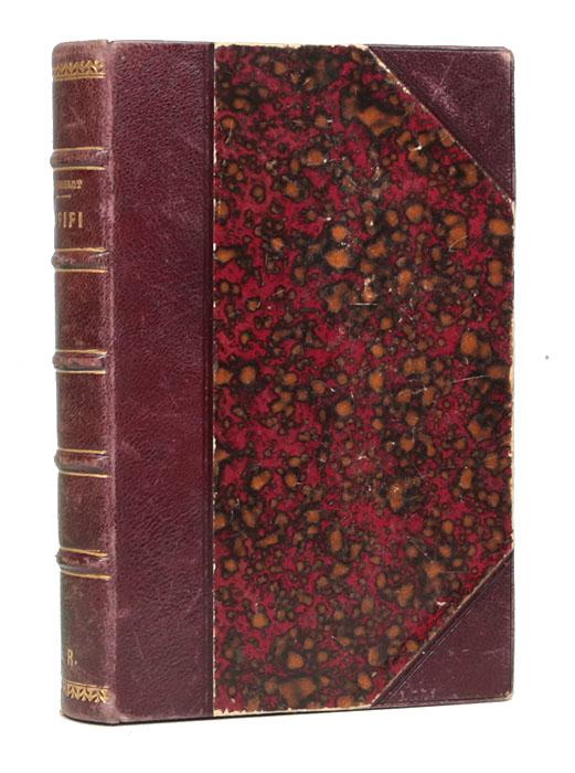 Mademoiselle Fifi. Nouveaux contesПК301004_лимонный, салатовыйПариж, 1898 год. Издание Paul Ollendorff. Владельческий переплет. Кожаный корешок и уголки. Корешок бинтовой с золотым тиснением. Сохранность хорошая. Суперэкслибрис на корешке - N. R. Ги де Мопассан (1850-1893) - выдающийся французский писатель, гениальный романист и автор новелл, которые по праву считаются шедеврами мировой литературы. Слава пришла к нему быстро, даже современники считали его классиком. Новеллы Ги де Мопассана давно стали неотъемлемой частью классики французской и мировой литературы. Им присущ блистательный психологизм, глубина социального анализа, ясность и точность художественной формы. Разнообразные по содержанию и жанровым особенностям, эти новеллы несут отпечаток неизбывного интереса автора к человеку. В издание вошел сборник новелл Мопассана «Мадемуазель Фифи» на языке оригинала. Не подлежит вывозу за пределы Российской Федерации.