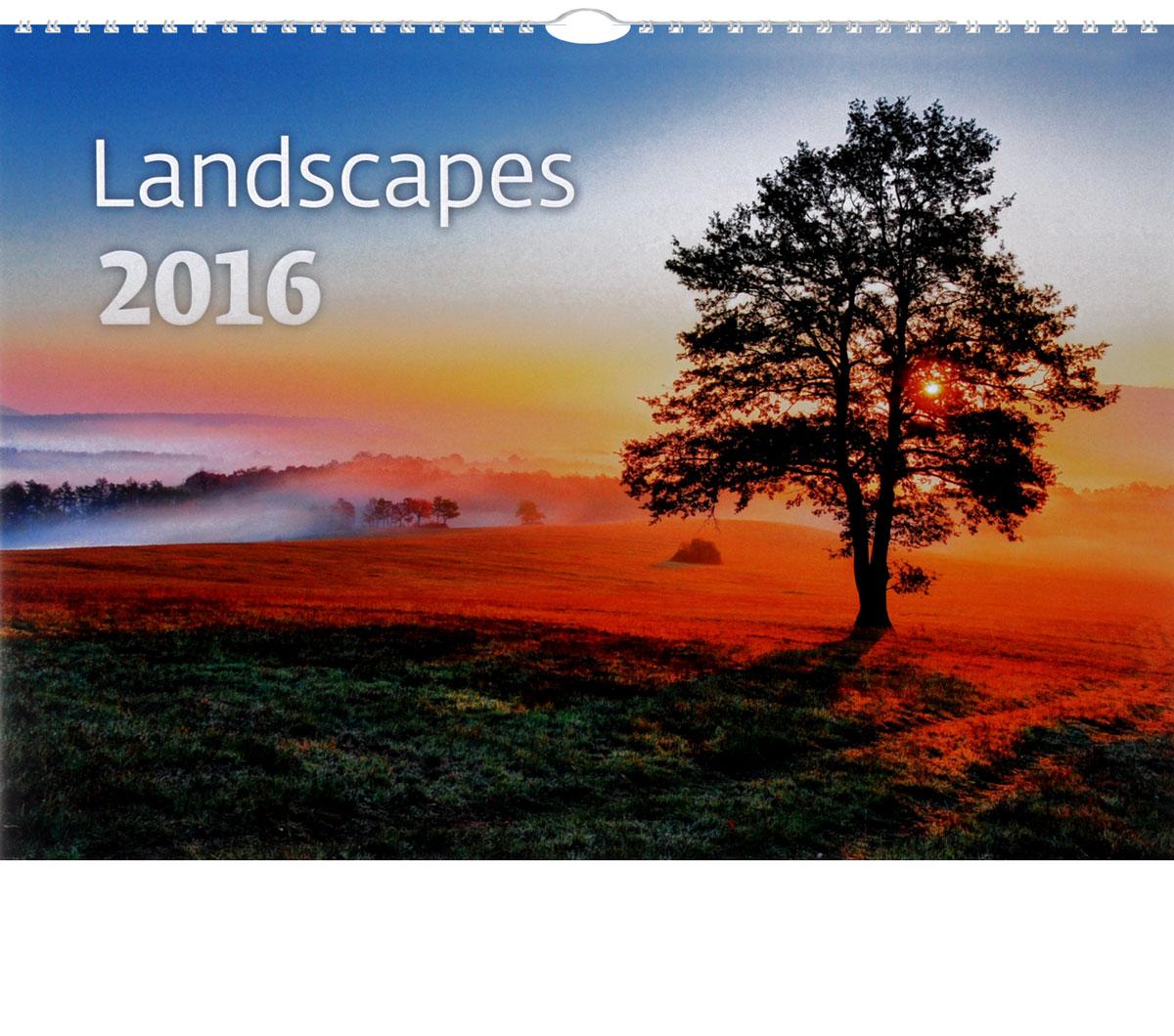 Календарь 2016 (на спирали). Landscapes