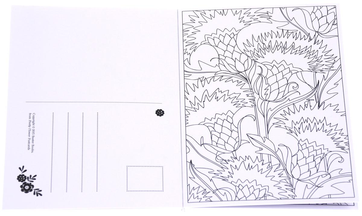 Pretty Flower Postcards
