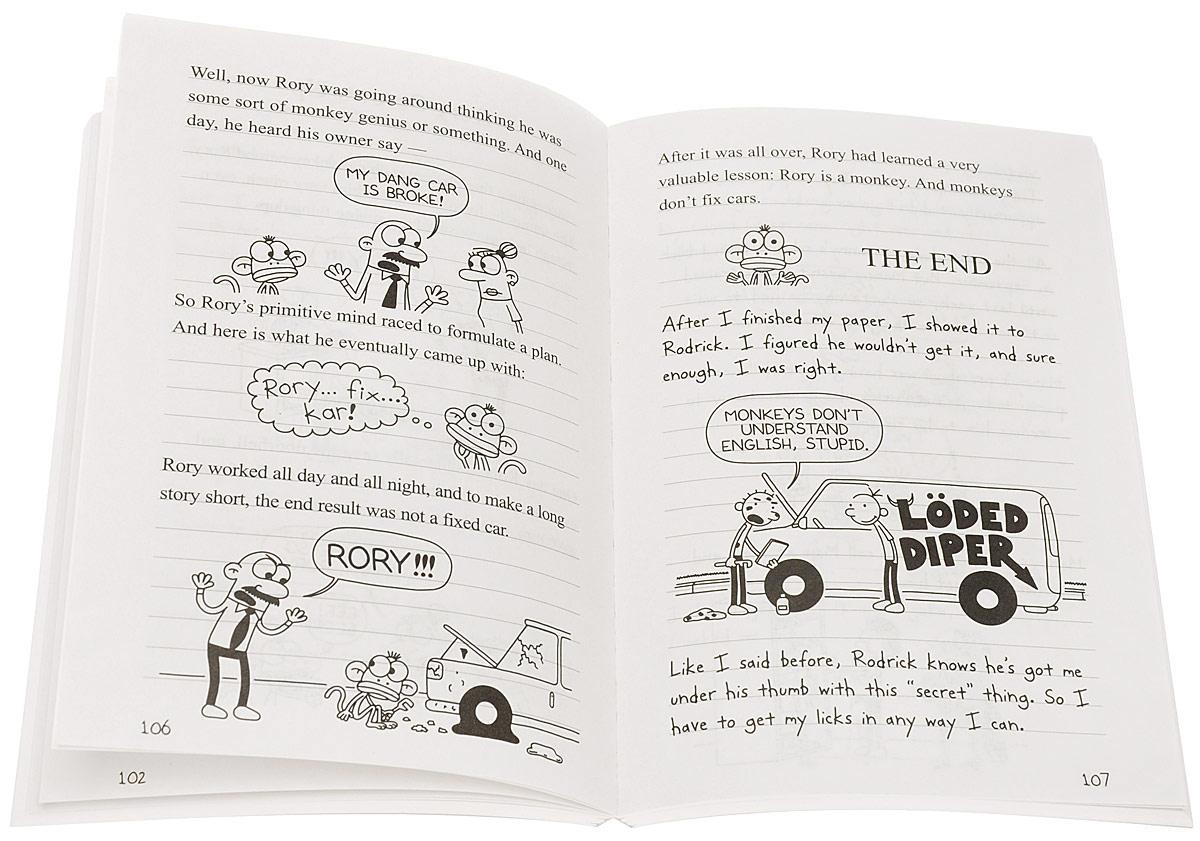 Diary of a Wimpy Kid (комплект из 9 книг)