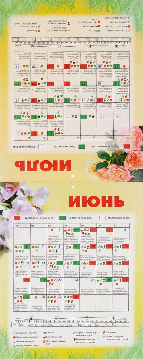 Календарь 2016 (на скрепке). Лунный календарь