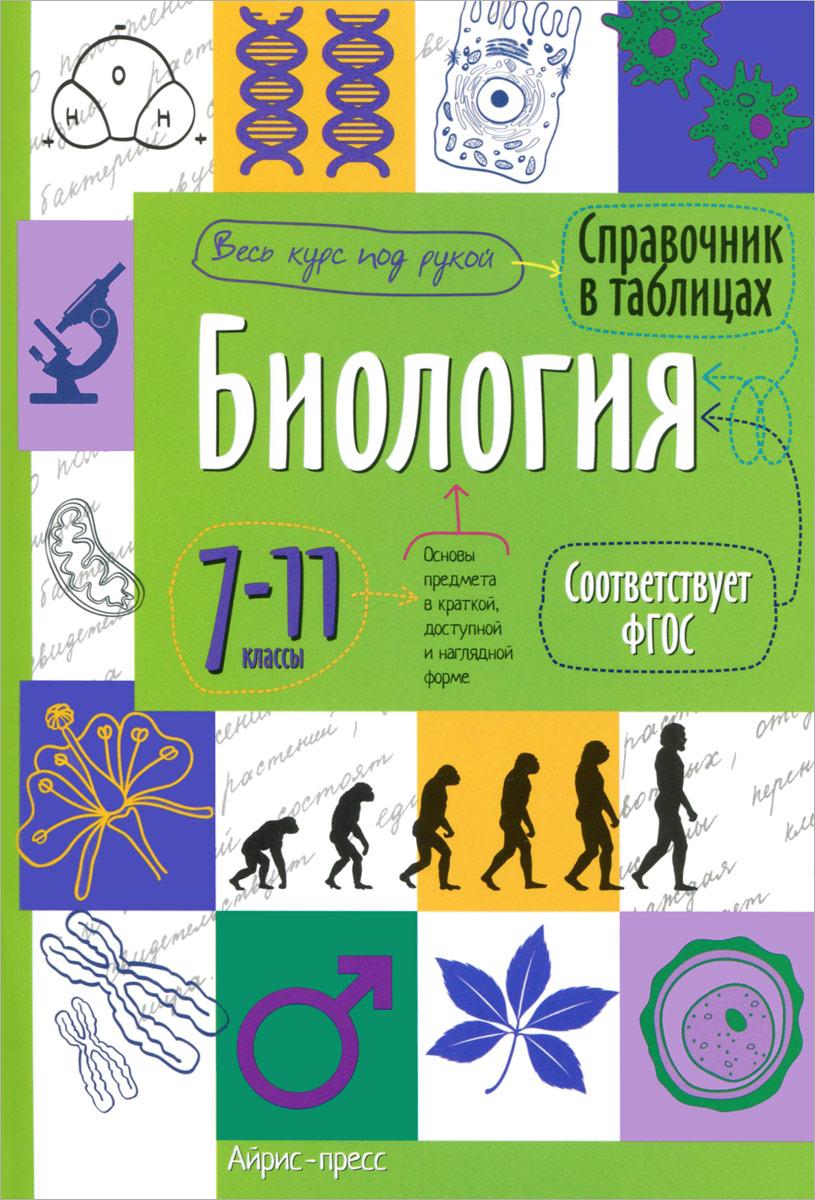 Биология. 7-11 классы. Справочник в таблицах