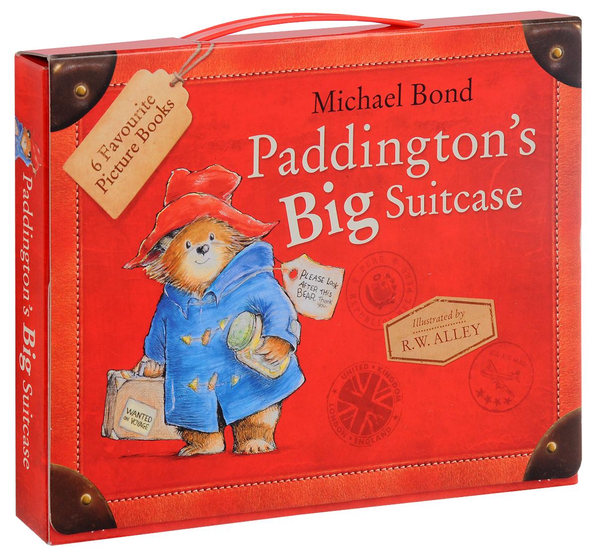 Paddington's Big Suitcase (комплект из 6 книг)