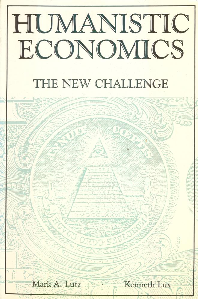 Humanistic Economics. The new challenge12296407Гуманистическая экономика - экономика, в которой человек, личность поставлены во главу всей экономической деятельности, а сама деятельность направлена на удовлетворение потребностей, запросов человека. В факторы производства в гуманистической экономике включаются материальная и духовная культура, интеллектуальные ценности, личностно-квалификационный и морально-этический потенциал, психологические установки. Человек в гуманистической экономике рассматривается как потребитель благ и обладатель не только рабочей силы, но и нравственных начал и моральной ответственности. Вашему вниманию предлагается монография по гуманистической экономике на английском языке.