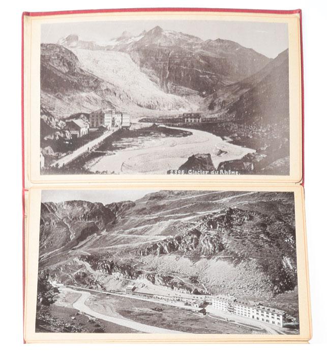 Route de la Furka. Альбом видов Швейцарии