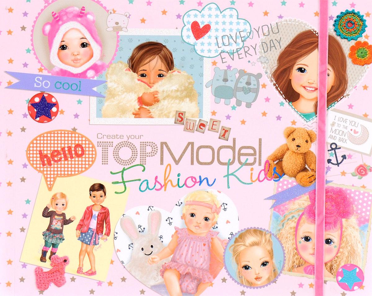 TOPModel Fashion Kids. Раскраска (+наклейки)